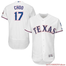 MLB Men's Texas Rangers Shin-Soo Choo Baseball Home White Flex Base Authentic Collection Player Jersey(China)