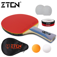 Table tennis racket Pimples-in rubber Ping Pong Racket bat for attack and loop drive at near table low price 995