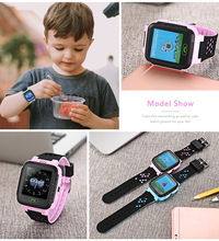 Y21 (A16) GPS Kid Watch Children LCD Display Smartwatch SOS Smart Watch Telephone Double Talkback Pedometer Kid Safety Area Look(China)