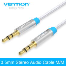 Vention Jack 3.5mm Car AUX Cable Male to Male Audio Cable 1m 2m 3m for iPhone Tablet Headphone Speaker Computer