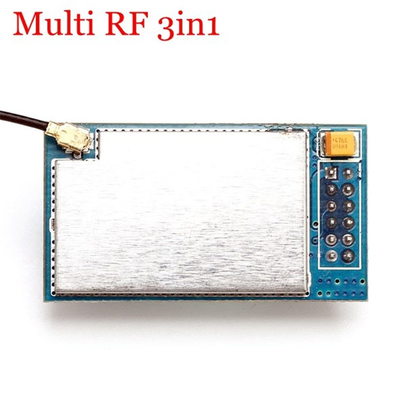 Best Deal CC2500 NRF24L01 A7105 Multi RF 3 IN 1 Wireless Module 3.3V Power Supply for DEVO Transmitter For RC Helicopter Part<br>