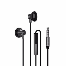 Moudou O1 Black 3.5mm, 1.2M HiFi headphone, Metal material, General Suit for Android/IOS/WP(China)
