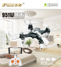 FQ777 951W WIFI Mini Pocket Drone FPV 4CH 6-axis gyro Quadcopter with 30W Camera Smartphone Holder Transmitter F17860/61
