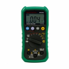 MASTECH MS8239D Digital Automotive Multimeter And Engine Analyzer Dwell Angle/ Speed 4CYL~8CYL Continuity Test(China)