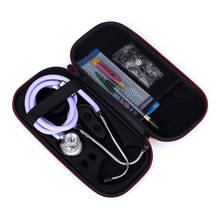 Case for Doctors/Nurses.Stethoscope Hard Carrying Case Box Cover Pouch For 3M Littmann/MDF/ADC/Omron Stethoscope/Hard Drive/SSD(China)
