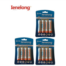 12Pcs/3card Ienelong Low self-discharge Durable AA Battery 1.2V 1600mAh Ni-MH Rechargeable Batteries 1.2V  Batteries