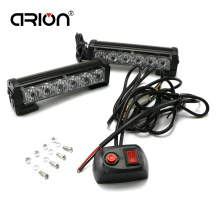 36W 2x6 led Police strobe lights vehicle Work light bar car warning lamp emergency Light for trucks DC 12V RED BLUE Amber White