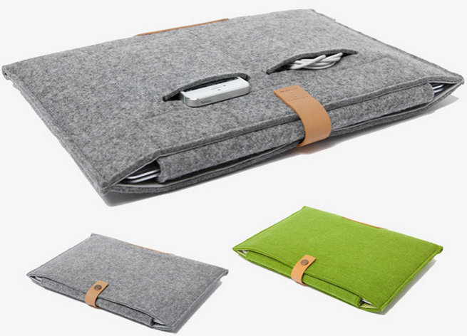 Newest graceful Wool Felt Sleeve Bag for MacBook Pro Air 11 12 13 14 15 inch laptop protective sleeve 11.6 13.3 15.4 bag<br><br>Aliexpress