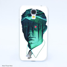 3880CA Twin Peaks Hard Transparent font b Case b font Cover for Galaxy S2 S3 S4