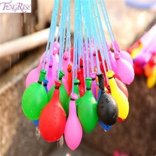 FENGRISE 3 Bunches Mini Water Balloon Ball Toys For Children Summer Beach Games Magic Water Bombs Birthday Party Supplies