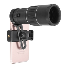 Buy 16x52 Telescope Monocular Hiking Concert Phone Camera Lens 10x Zoom Lens Clip Universal Samsung iPhone Smartphones for $13.59 in AliExpress store