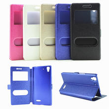 YUANLONG 5 Types For OPPO R7 R7S Case Open Window Cell Phone Case For OPPO R9 Luxury Flip Leather For OPPO R9 Plus Cover(China)