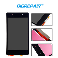 DigRepair For Sony Xperia Z2 L50W D6502 D6503 LCD Display Digitizer Touch Screen Full Assemble Replacement Parts Free Shiping