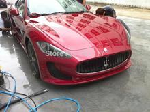 Fiber Glass Unpainted Black Primer Auto Car Front Bumper For Maserati GT 4.2 Gran Turismo 2008-2013