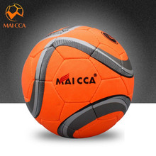 MAICCA Professional Soccer Sport Football PU Material Size 4 Training Equipment