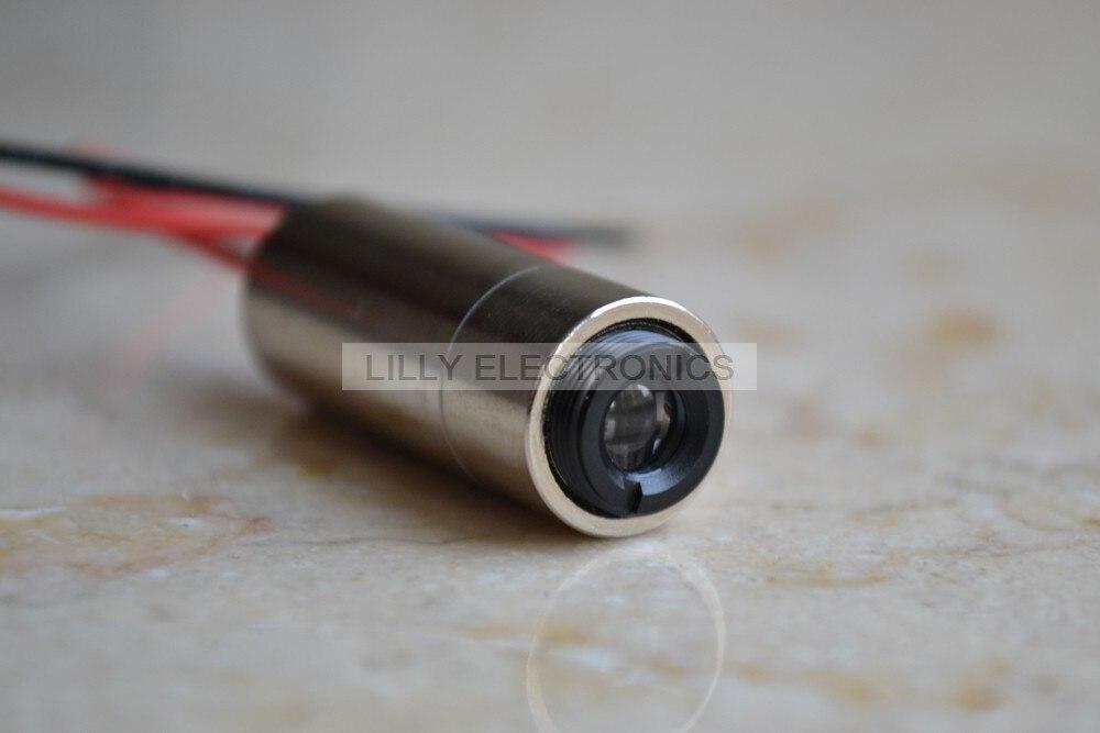 450nm 50mw Focusable Blue Laser DOT Module 3.0-3.6V<br>