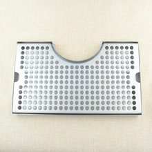 "3"" Column Cut-Out Surface Mount Drip Tray No Drain, 12""L x 7""W x 3/4""H, SS304, Beer Drip Tray, Kegging Equipment(China)"