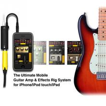 Guitar Link System AMP Guitar Amplifier Effects Pedal Converter Cable Adapter Jack for Iphone for Ipod Touch for Ipad