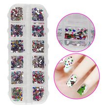 1000PCS Nail Art Crystal Rhinestone Resin Colorful 3D Decorations DIY Tips Cellphone Salon Express Manicure Tools