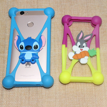 Smmnas Cover Rabbit Silicon Case For BQ BQ-5058 Strike Power Easy 5060 Slim 5022 Bond 5032 Element 5071 Belief Phone Cases