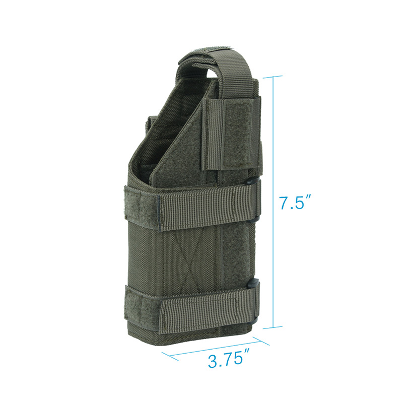 Tactical Universal Pistol Holster Outdoor Hunting Military Molle Equipment Bags Adjustable Pistol bag