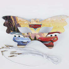 12pcs Cars Cartoon Pattern Theme Party Mask kids Birthday Party Decorations Christmas Eye Cover Party Supplies(China)