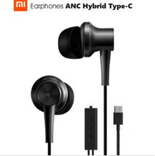 Buy Original Xiaomi ANC Earphones Hybrid Type-C Charging-Free Mic Line Control Headphone Headset Xiaomi Mi6 MIX Note2 Mi5s /Plus for $47.97 in AliExpress store