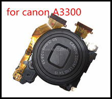 95%NEW Lens Zoom Unit For CANON Powershot A3200 A3300 A3350 IS Digital Camera Repair Part Black with CCD(China)