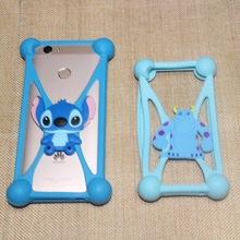 Smmnas Cute Animal Silicone Case Cover For Nomi i500 Sprint i501 Style i502 Drive i503 Jump i504 Dream i505 Jet Phone Frame