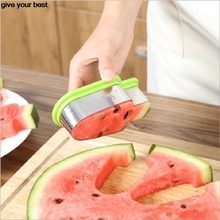 ice cream model watermelon cut slicer Melon cutter knife fruit segmentation Watermelon Corer Cantaloupe Cutting Seeder Slice(China)