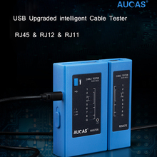 AUCAS Network Cable Tester rj45 RJ11 Network LAN Ethernet RJ45 Cable Tester tool