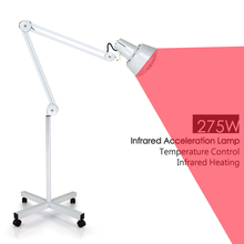 275W Infrared Heat Lamp for Muscle Pain and Cold Relief, Light Therapy Infra Care 110V 220V US EU UK plug(China)