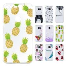 Misolocat for Google Pixel / Pixel XL Soft Skin Transparent Printed Back Cover Pineapple Red Lips Protective Phone Cases(China)