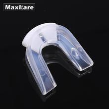 Maxkare Transparent Sports Gum Shield Mouth Guard Teeth Protector for Rugby Safe Strenuous Exercise Silicone Outdoor Goods(China)