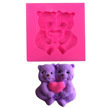 Care Bears silicone mold chocolate fondant cake decoration tools baking utensils F0386