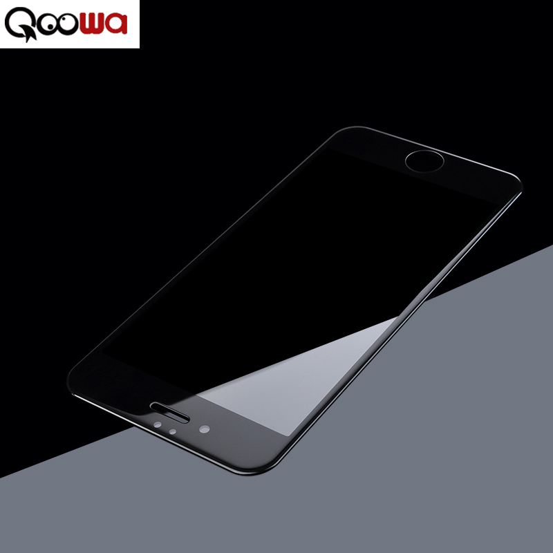Qoowa Luxury Glass Film for iPhone 6/6s Premium Fu...