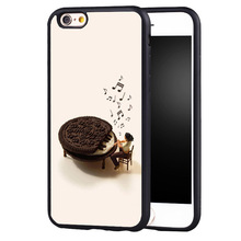 Funny music macarons Piano Keyboard original protect edge case cover For Samsung s4 s5 s6 S7 S6edge S8 S8plus note 2 3 4 5(China)