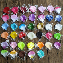 New 1000 pcs/lot Silk Romantic High Quality Artificial Rose Petal For Wedding Decoration Leaf Decorative Wreath Fake Flowers(China)