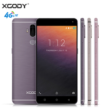 XGODY Y19 6.0 Inch Smartphone Android 7.0 4G LTE Fingerprint 2+16GB Quad Core 2900mAh 13MP GPS WiFi Dual SIM Cell Phones Celular(China)