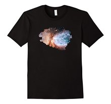 Hubble Space Telescope Star Forming Region S106 Cool T-Shirt Men Tops Tees 2017 Summer Fashion New(China)