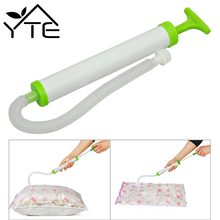 Portable Hand Air Vacuum Pump For Space Saver Saving Storage Bag Vacuum Seal Compressed Vacuum Bags Organizer