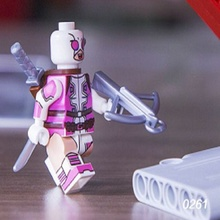 Single Sale Movie Gwenpool Deadpool Star Wars Super Heroes Bricks Action Figures Building Blocks Children Gift Toys Decool 0261 - Minifigures store