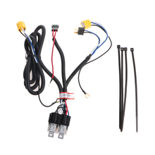 H4 Headlight Fix Dim Light Relay Wiring Harness System 2 Headlamp Light Bulb headlight wiring harness Relay kits 2017(China)