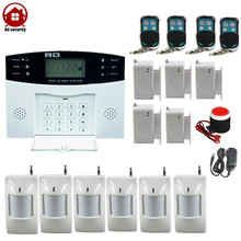 Wireless 433Mhz GSM Home Burglar Security SMS Alarm System Big Kit Russian Spanish French Lanuage Alarm AG Security Factory