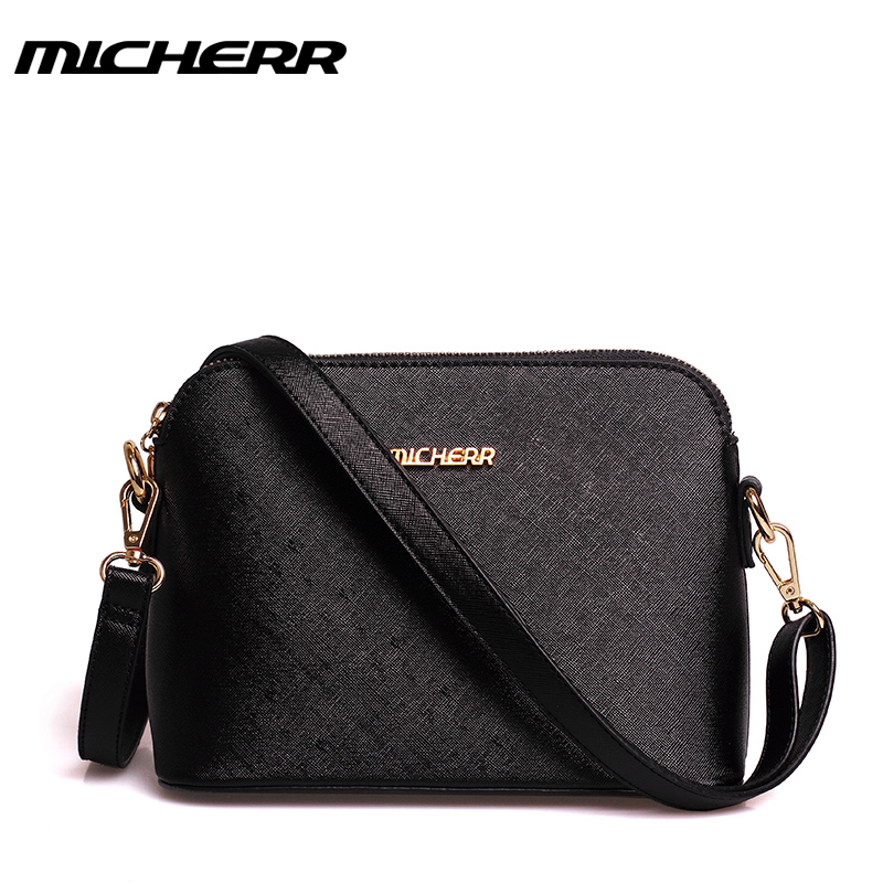 2016 new real small women messenger bags Handbags paragraph ladies bags tide trumpet shell party shoulder black red blue handbag<br>
