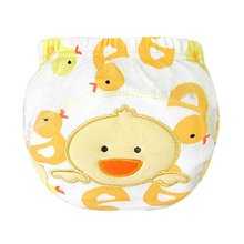 Kids Nappy Cotton Underwear Training Pants Toilet Potty Baby Cloth Diaper Cover S01(China)
