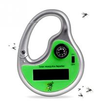 High Quality NEW Portable Insect Killer Mosquito Repeller Hook Type Solar Ultrasonic Wave with Compass Non Toxic Pest