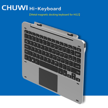 Multi Mode Rotary Shaft Aluminium Alloy Keyboard for Chuwi Hi12 Magnetic Docking Pogo Pin Separable Design for Playing Game Chat