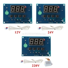 Buy Digital Thermostat K-type Module AC 220V/DC 12/24V 30 Controller Board Temp Controller J16 dropshipping for $10.10 in AliExpress store
