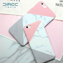2017 Fashion DIRECTopia Marble TPU Silicone Case For iPhone 7 X 8 6 6s Plus Samsung Galaxy S8 Plus S7 Edge Cases Crystal Cover